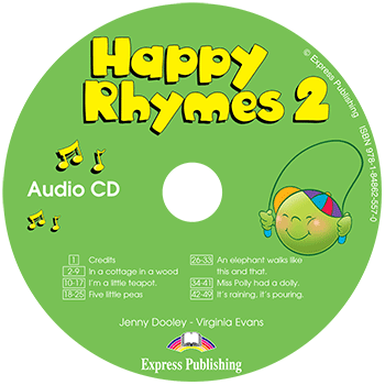 Диск Happy Rhymes 2 Class Audio CD