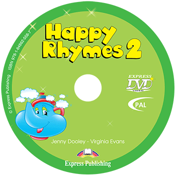 Диск Happy Rhymes 2 DVD