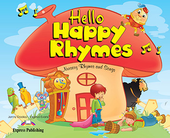 Підручник английского языка Hello Happy Rhymes Pupil's Book