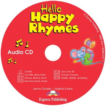 Диск Hello Happy Rhymes Class Audio CD