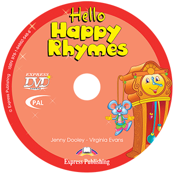 Диск Hello Happy Rhymes DVD