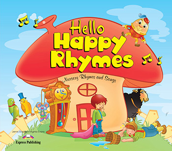 Підручник Hello Happy Rhymes Big Story Book