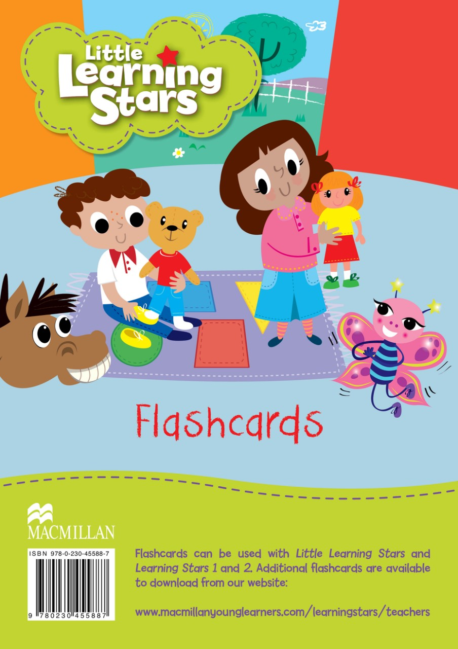 Картки Little Learning Stars Flashcards
