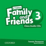 Диски Family and Friends (Second Edition) 3 Class Audio CD (2)