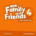 Диски Family and Friends (Second Edition) 4 Class Audio CD (2)