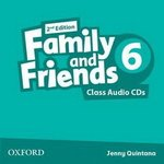 Диски Family and Friends (Second Edition) 6 Class Audio CD (2)
