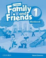Робочий зошит Family and Friends (Second Edition) 1 Workbook for Ukraine