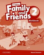 Робочий зошит Family and Friends (Second Edition) 2 Workbook for Ukraine