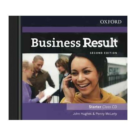 Диск Business Result Second Edition Starter Class Audio CD