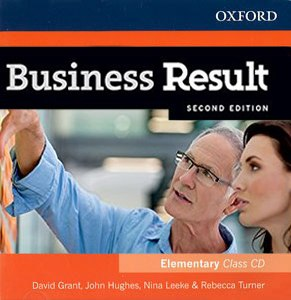 Диск Business Result Second Edition Elementary Class Audio CD