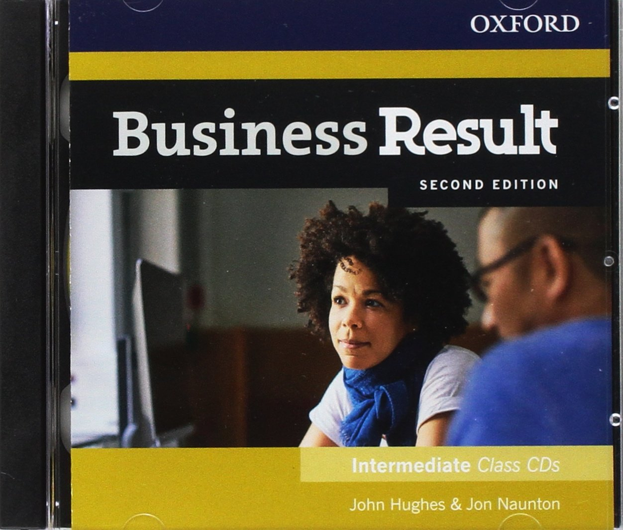 Диск Business Result Second Edition Intermediate Class Audio CD