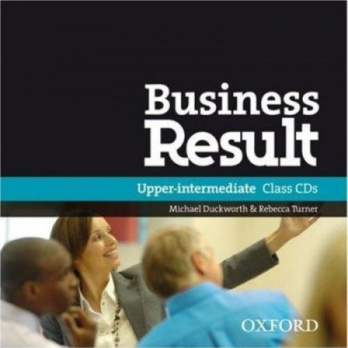 Диск Business Result Second Edition Upper-Intermediate Class Audio CD