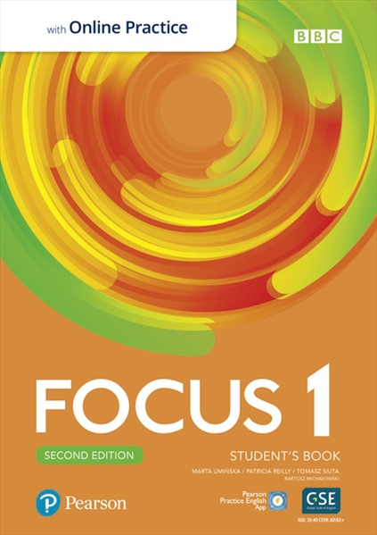 Підручник з англійської мови Focus Second Edition 1 Student's Book with Online Practice
