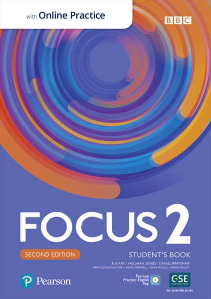 Підручник з англійської мови Focus Second Edition 2 Student's Book with Online Practice