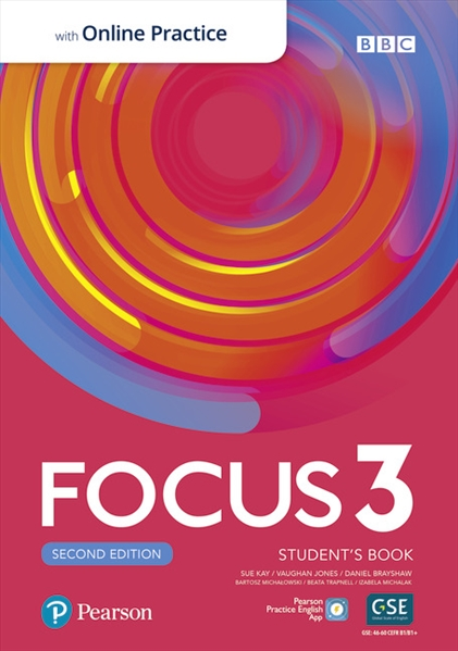 Підручник з англійської мови Focus Second Edition 3 Student's Book with Online Practice