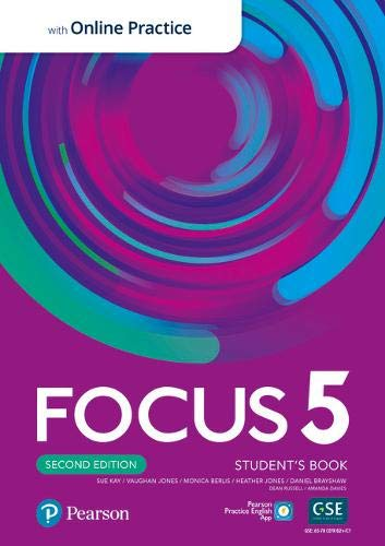 Підручник з англійської мови Focus Second Edition 5 Student's Book with Online Practice