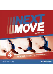 Диски Next Move 4 (B1) Class Audio CDs (Set of 3)